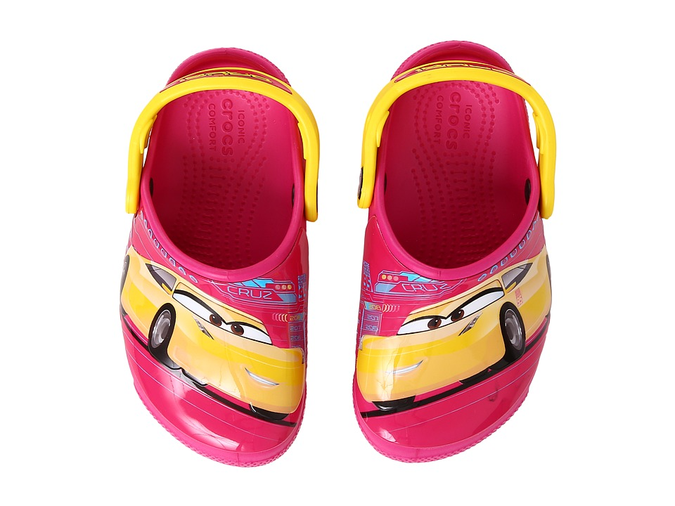 Crocs Kids - CrocsFunLab Lights Cars 3 (Toddler/Little Ki...