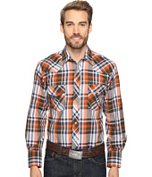 Roper - 0692 Navy & Olive Plaid