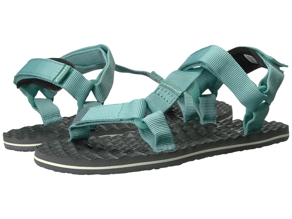 The North Face Base Camp Switchback Sandal (Agate Green/Graphite Grey) Women