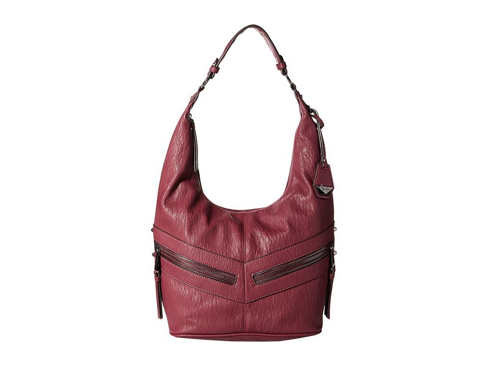 Jessica Simpson - Hudson Hobo (Maroon 1) Hobo Handbags