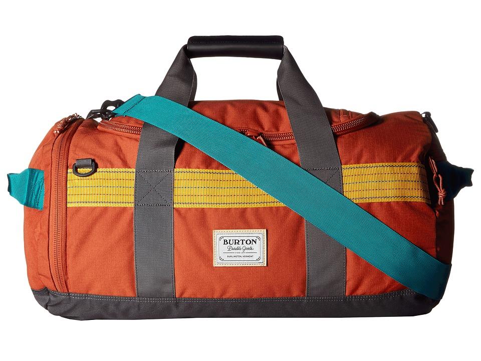Burton Backhill Duffel Small 40L (Tandori Ripstop) Duffel Bags