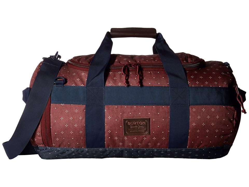 Burton Backhill Duffel Small 40L (Mandana Print) Duffel Bags