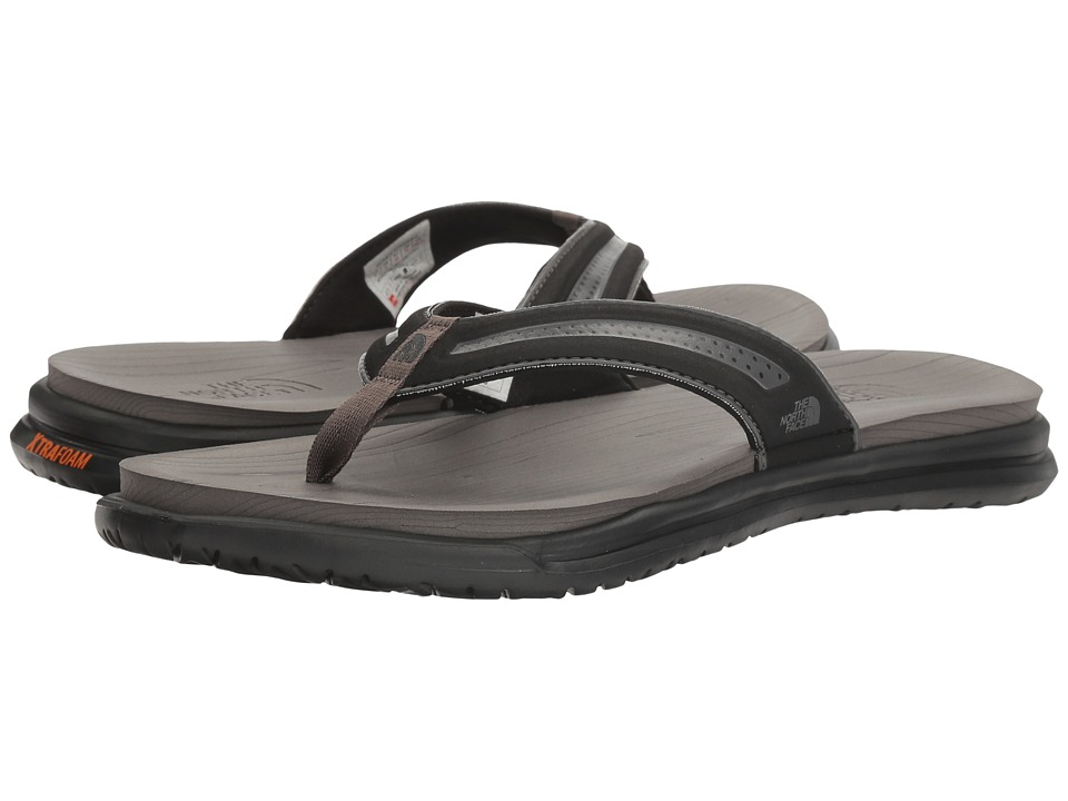 The North Face - Base Camp XtraFoam Flip Flop (TNF Black/Dark Gull Grey (Prior Season)) Women's Sandals