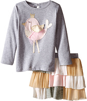 Mud Pie - Chickadee Tutu Skirt Set (Infant/Toddler)