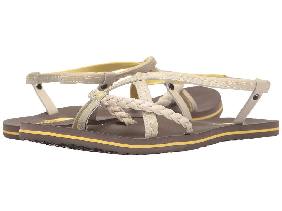 The North Face Base Camp Plus Gladi (Rainy Day Ivory/Falcon Brown) Women