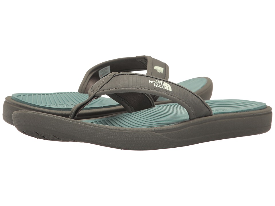 The North Face Base Camp Lite Flip Flop (Graphite Grey/Trellis Green) Men