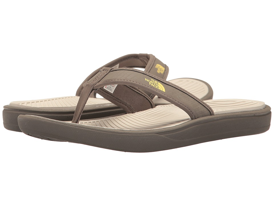 The North Face Base Camp Lite Flip Flop (Falcon Brown/Rainy Day Ivory) Men