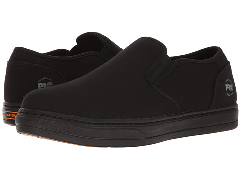 Timberland PRO Disruptor Alloy Safety Toe EH Slip-On - Black/Black Canvas