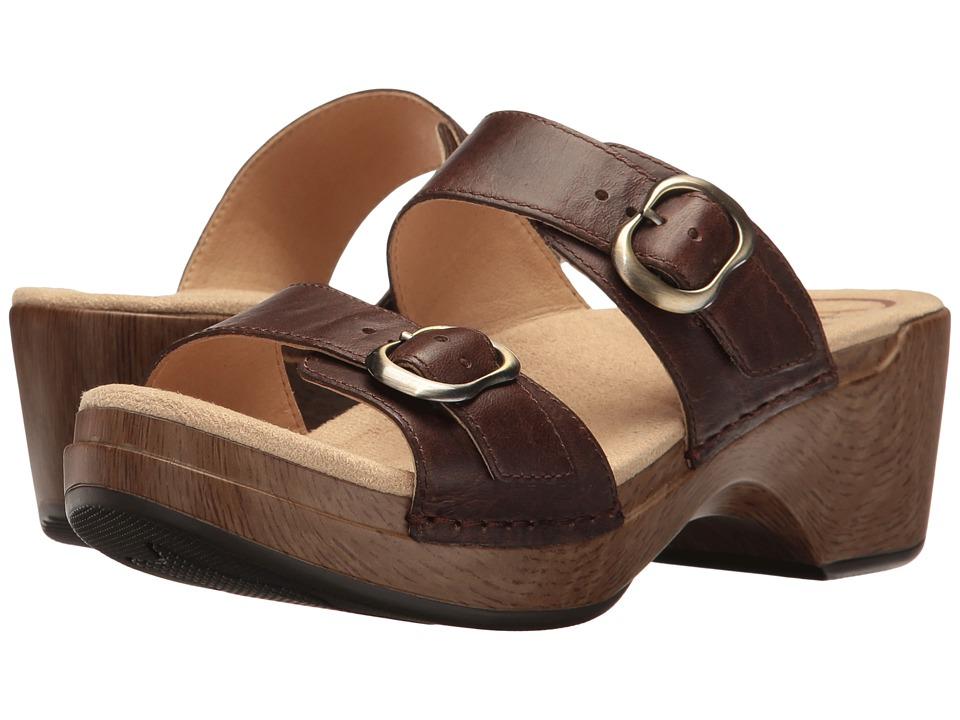 Dansko Sophie (Teak Vintage) Women's Sandals