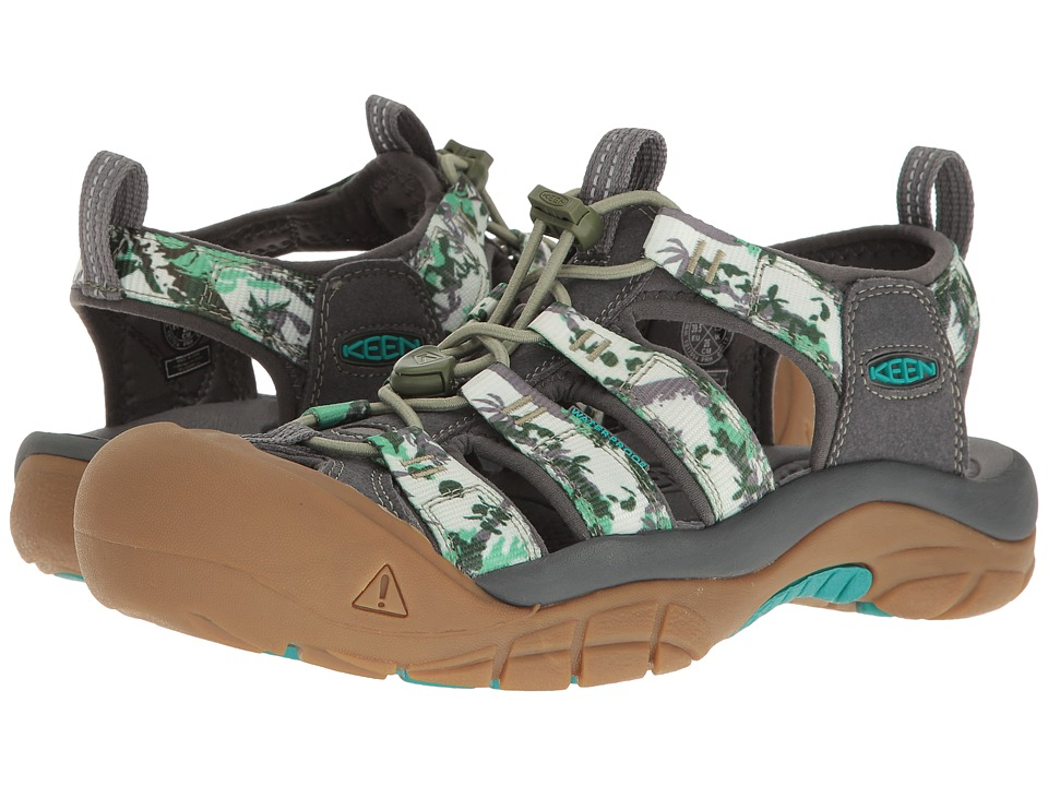 Keen Newport H2 (Book Tree Camo) Women's Shoes