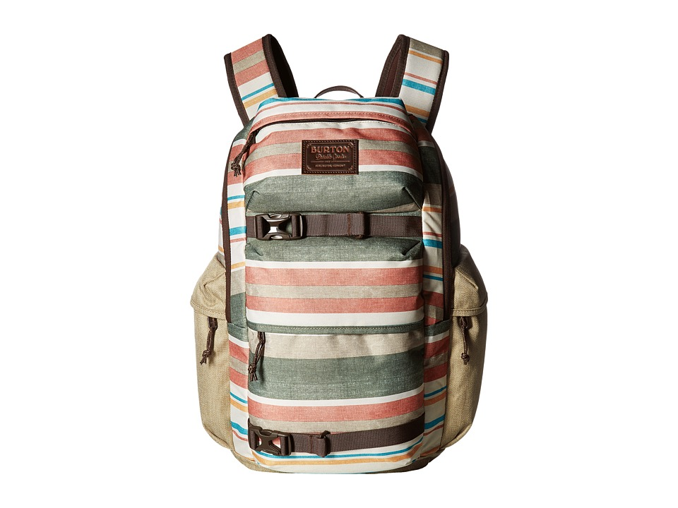 Burton Kilo Pack (Rancher Stripe Print) Backpack Bags