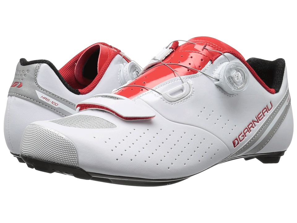 Louis Garneau Carbon LS-100 II (White/Ginger) Men's Runni...