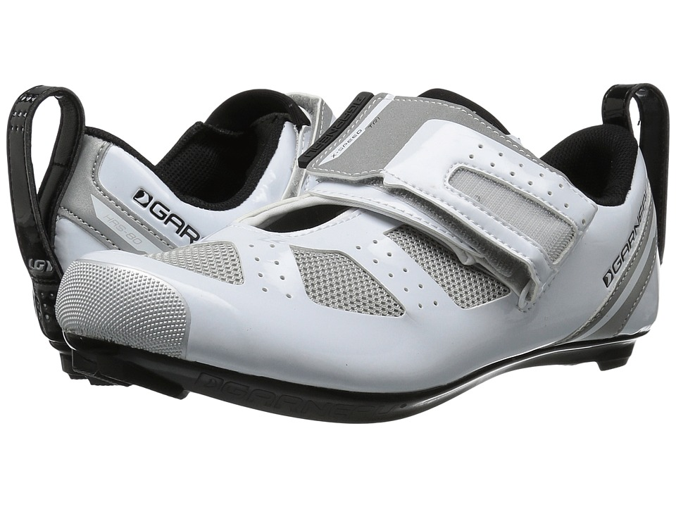Louis Garneau - Tri X-Speed III (White/Drizzle) Mens Running Shoes
