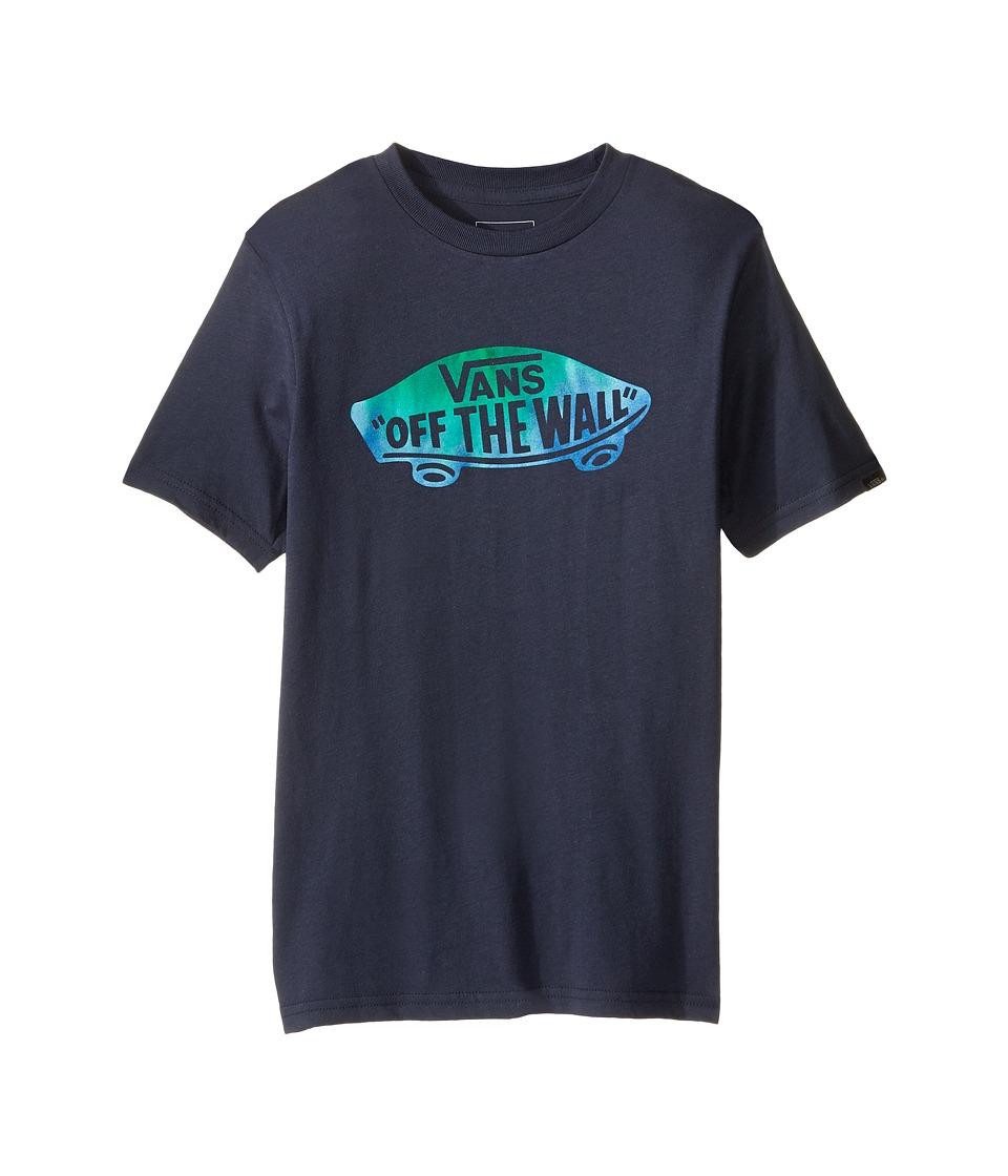 Vans Kids OTW Logo Fill T-Shirt (Big Kids) (Navy/Tie-Dye) Boy