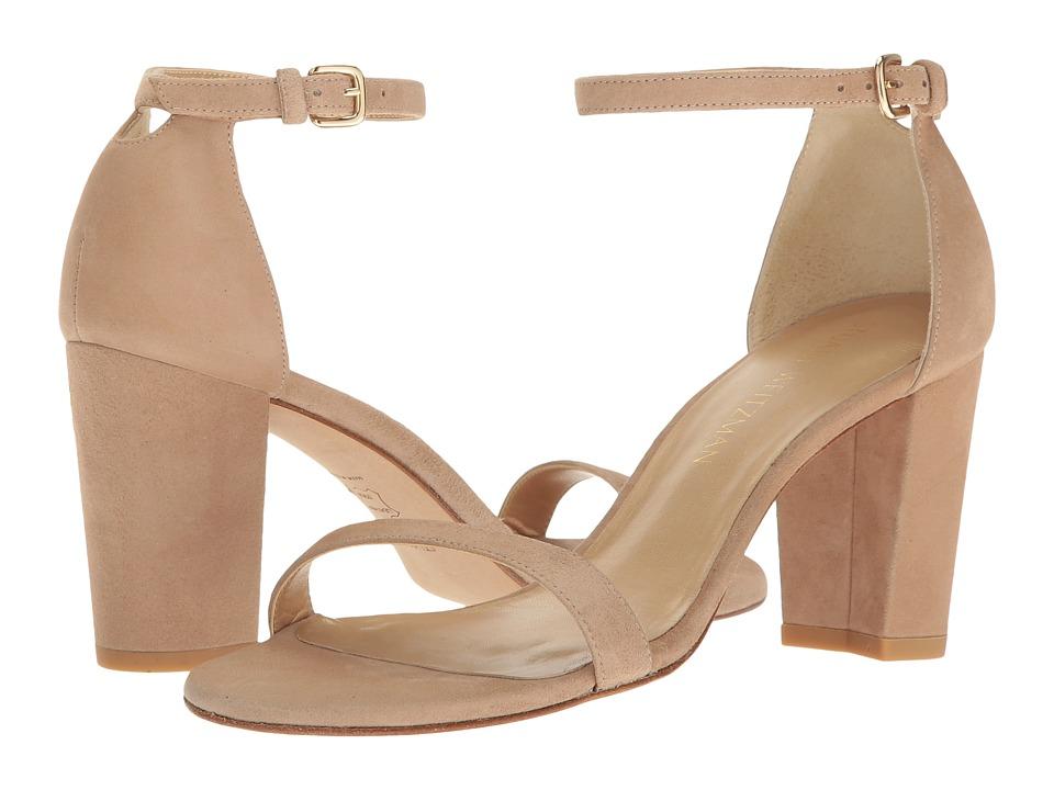 Stuart Weitzman Nearlynude (Mojave Suede) Women's Shoes
