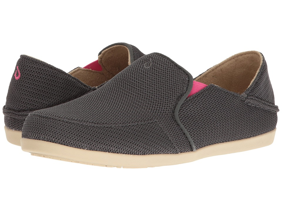 OluKai Waialua Mesh (Dark Shadow/Magenta) Women