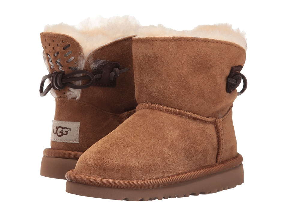 UGG Kids Adoria Tehuano (Toddler/Little Kid) (Chestnut) Girls Shoes
