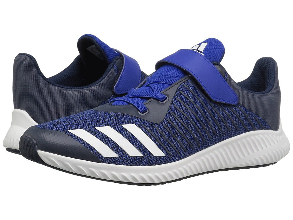 adidas Kids FortaRun EL (Little Kid/Big Kid) (Collegiate Royal/White/Navy) Boys Shoes