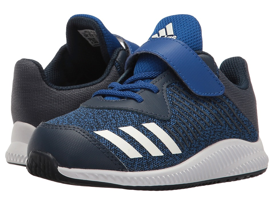 adidas Kids FortaRun EL (Toddler) (Collegiate Royal/Footwear White/Collegiate Navy) Boys Shoes