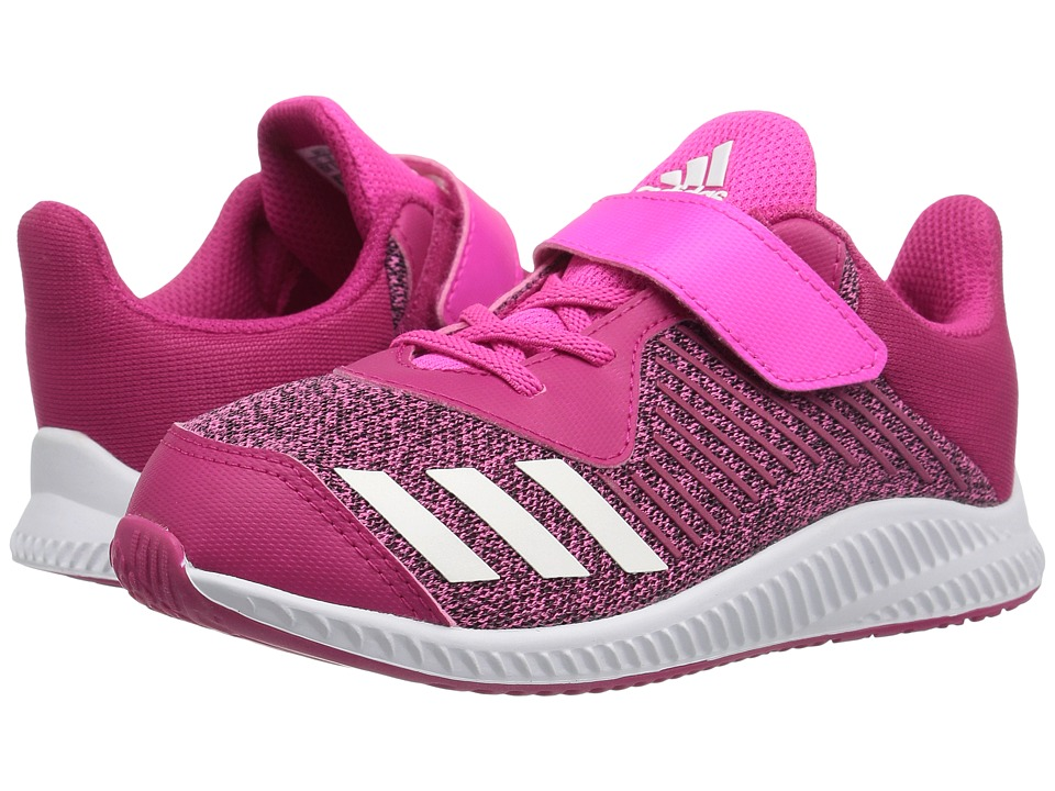 adidas Kids FortaRun EL (Toddler) (Bold Pink/Footwear White/Shock Pink) Girls Shoes