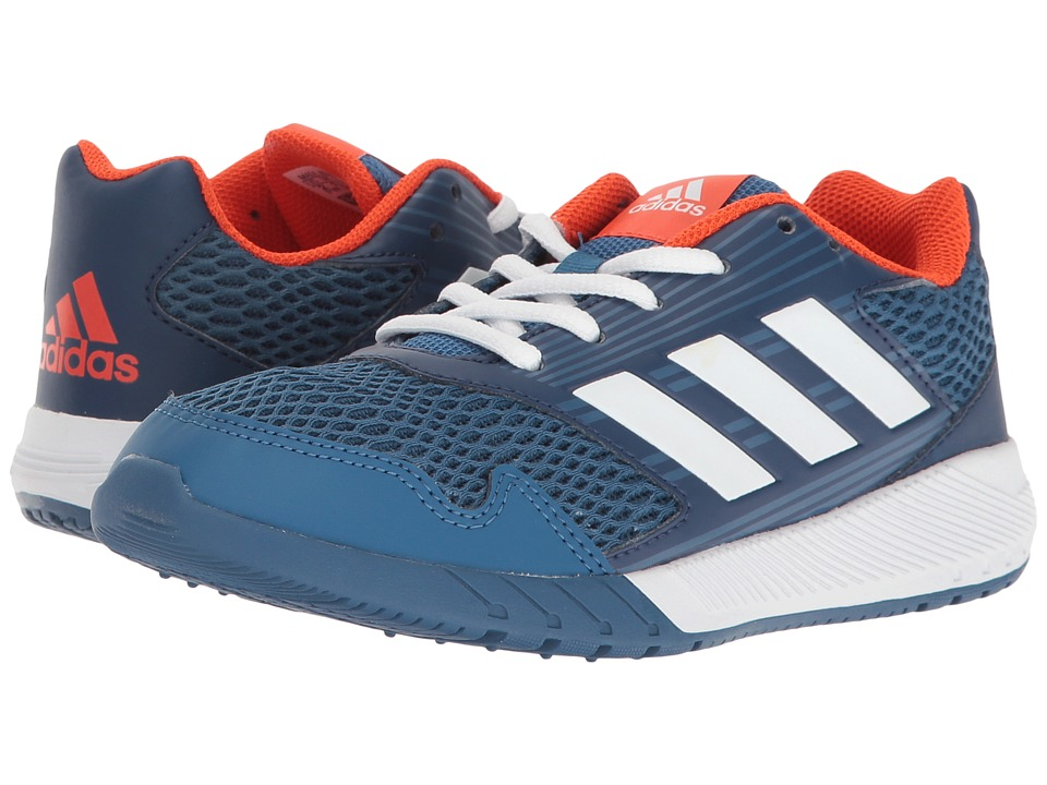 adidas Kids AltaRun (Little Kid/Big Kid) (Blue/White/Mystery Blue) Boys Shoes