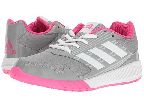 adidas Kids AltaRun (Little Kid/Big Kid) - Clear Grey/White/Shock Pink