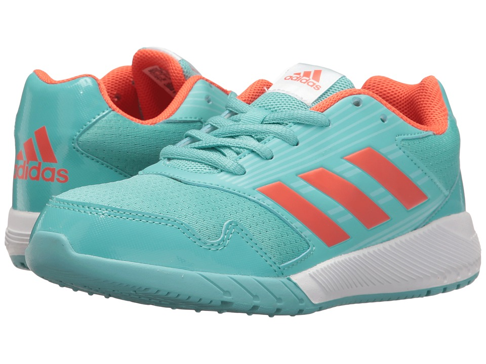 adidas Kids AltaRun (Little Kid/Big Kid) (Easy Mint/Easy Coral/Clear Aqua) Girls Shoes