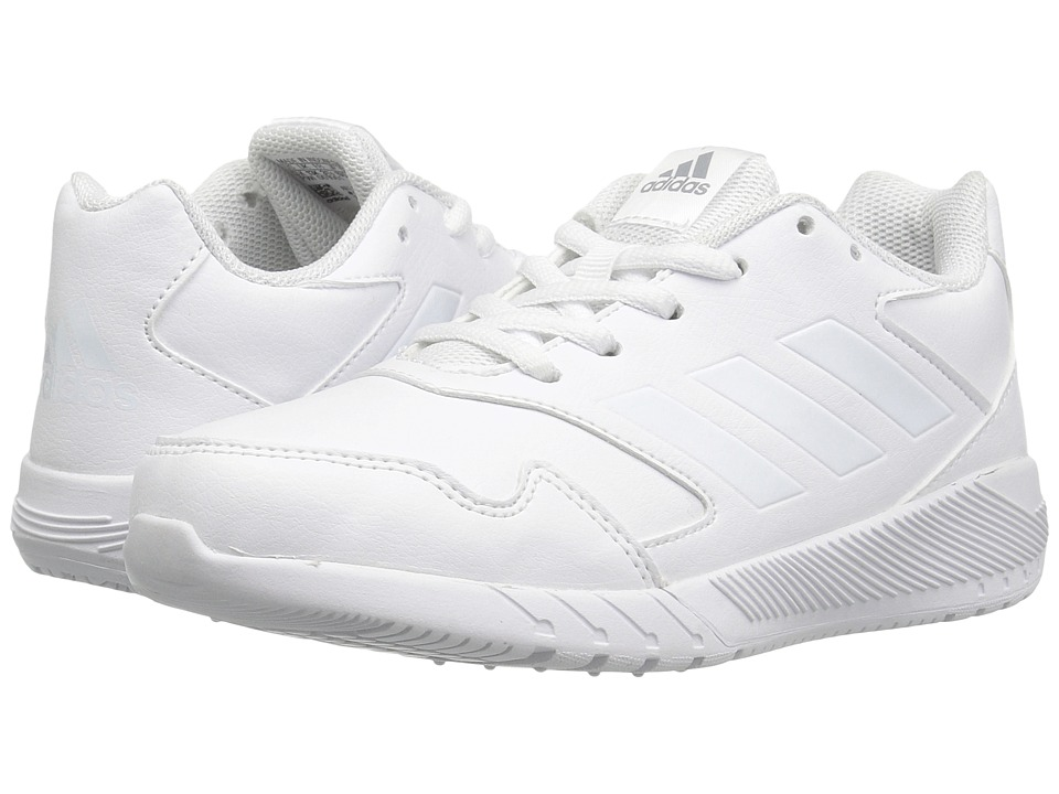 adidas Kids AltaRun (Little Kid/Big Kid) (White/White) Kids Shoes