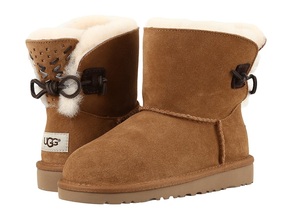 UGG Kids Adoria Tehuano (Little Kid/Big Kid) (Chestnut) Girls Shoes
