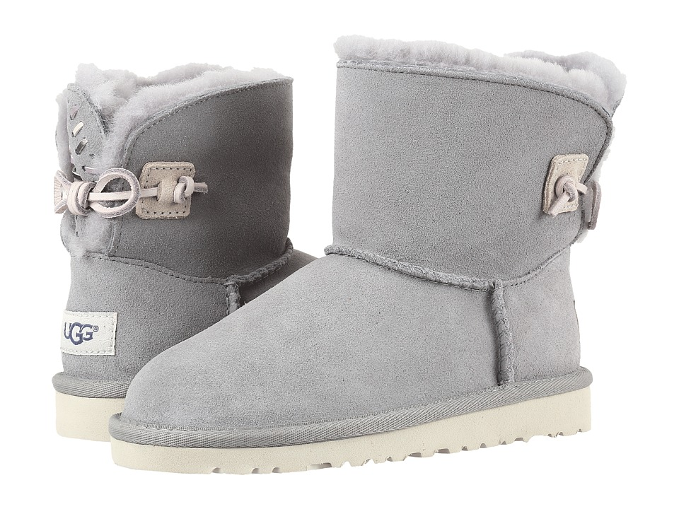 UGG Kids Adoria Tehuano (Little Kid/Big Kid) (Pencil Lead) Girls Shoes