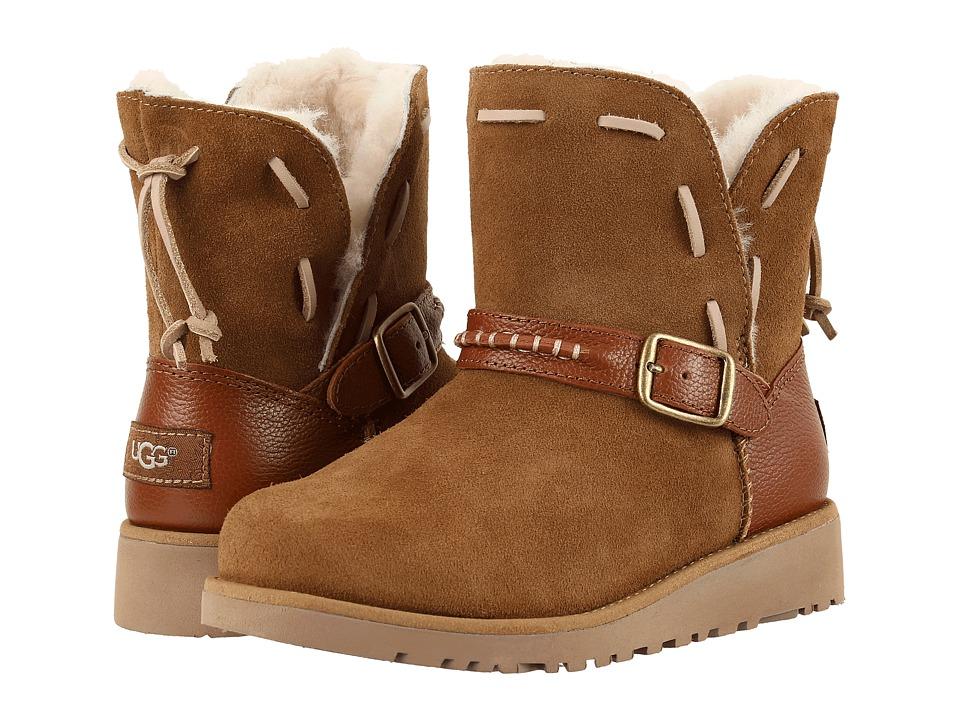 UGG Kids Tacey (Little Kid/Big Kid) (Chestnut) Girls Shoes