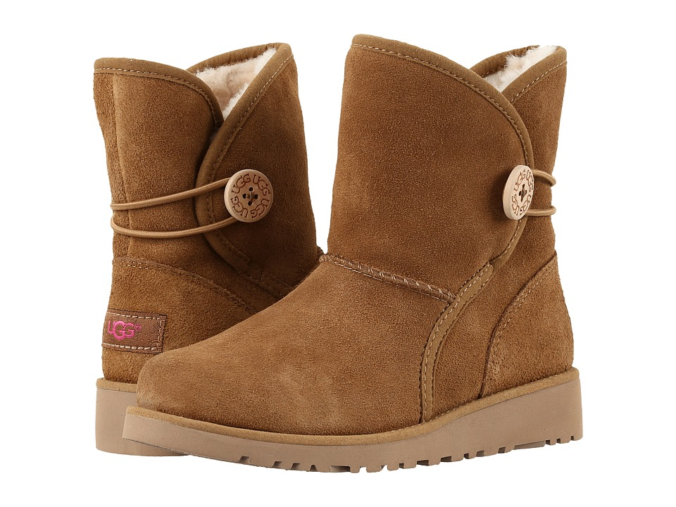 UGG Kids Fabian (Little Kid/Big Kid) (Chestnut) Girls Shoes