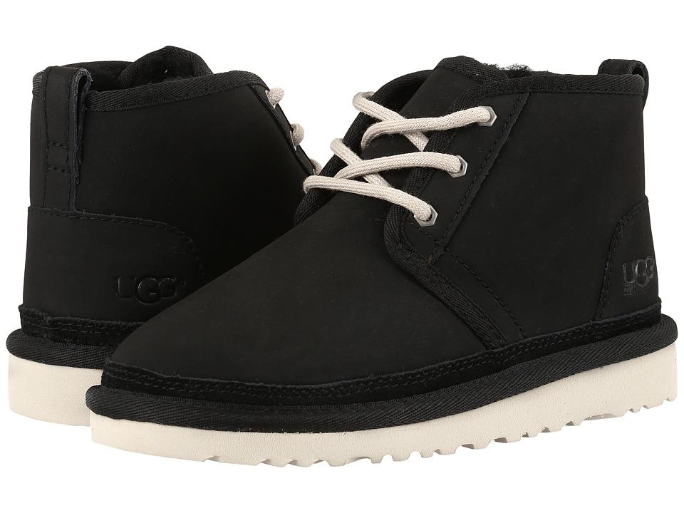 UGG Kids Neumel (Little Kid/Big Kid) (Black 2) Kids Shoes