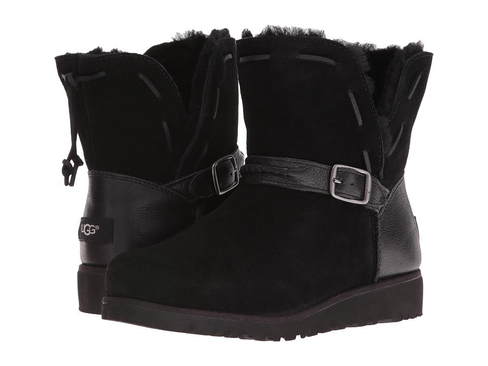 UGG Kids Tacey (Big Kid) (Black) Girls Shoes