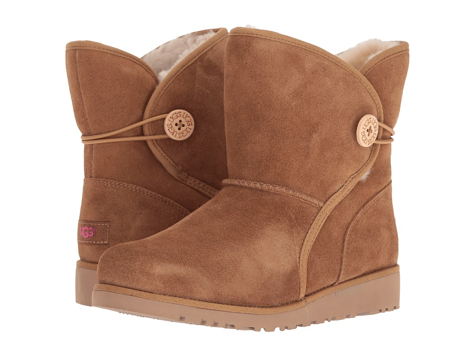 UGG Kids Fabian (Big Kid) (Chestnut) Girls Shoes