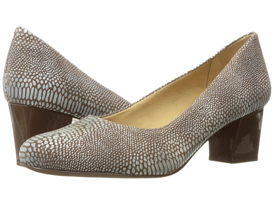 Trotters Candela (Light Multi Lizard) High Heels