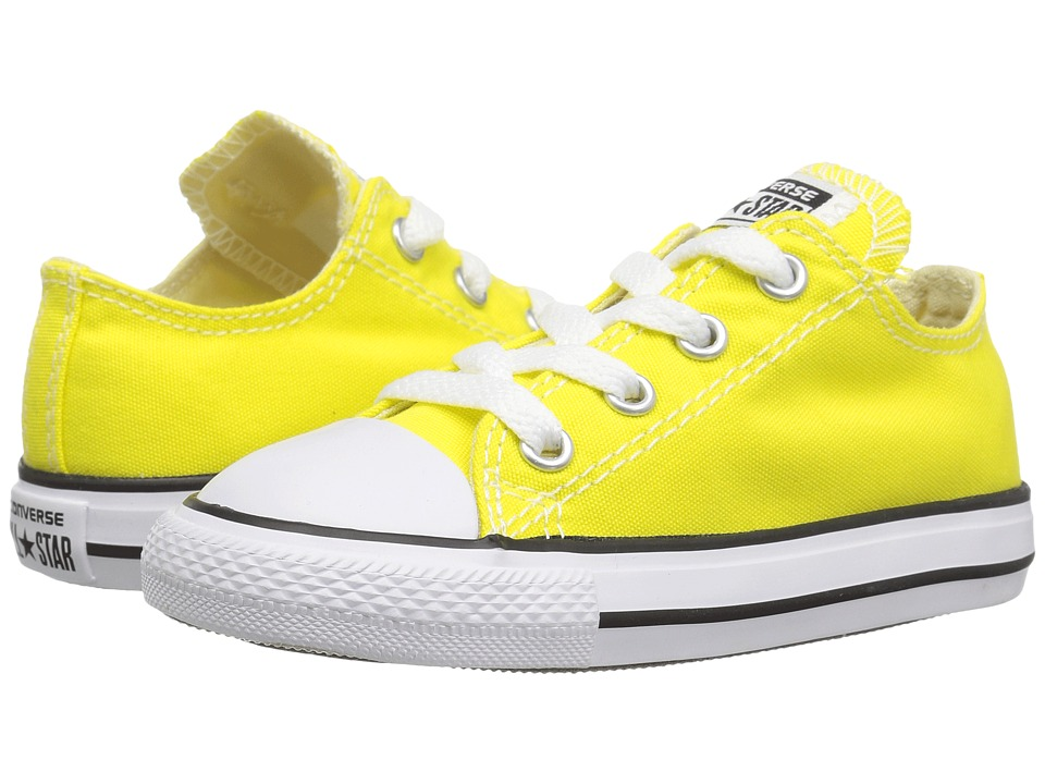 Converse Kids Chuck Taylor All Star Ox (Infant/Toddler) (Fresh Yellow) Kids Shoes