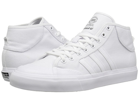 adidas Skateboarding Matchcourt Mid ADV - White/White/White