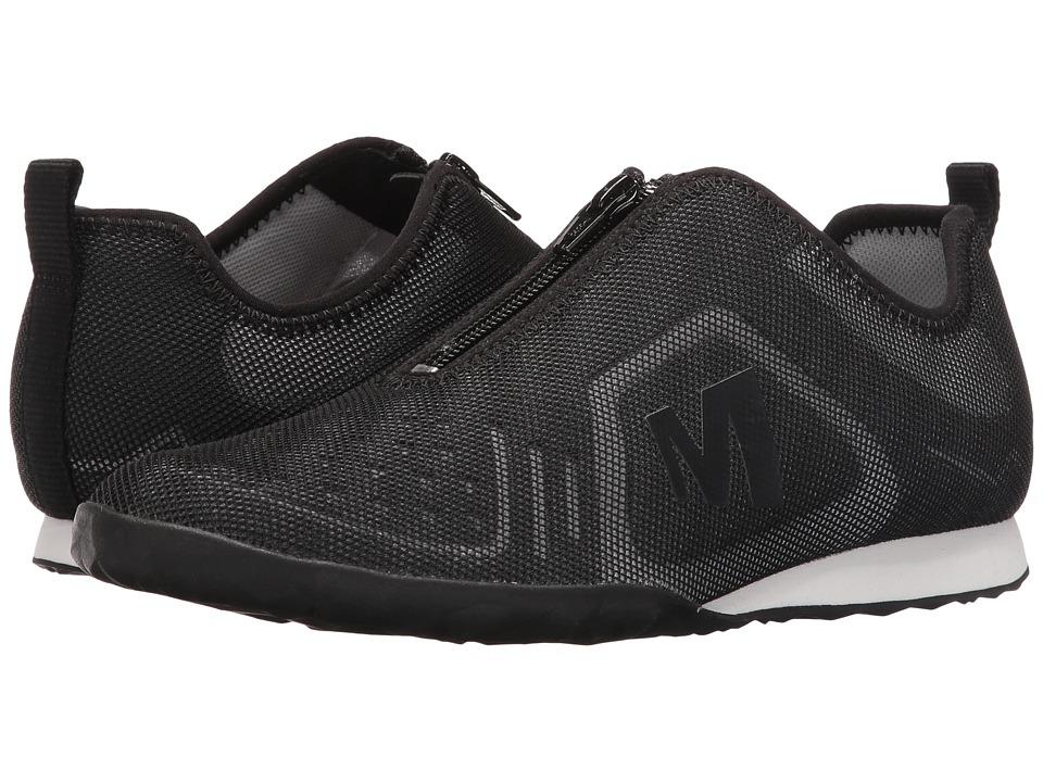 Merrell Civet Zip (Black) Women's Shoes