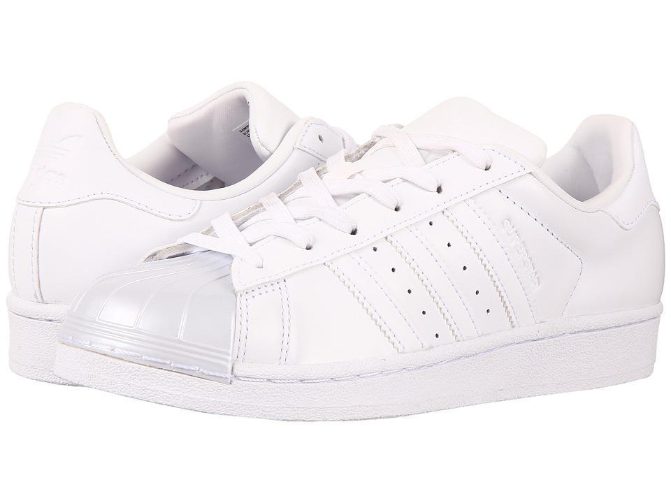 Adidas Originals - Superstar Glossy Toe (Footwear White/Footwear White/Core Black) Women's Tennis Shoes