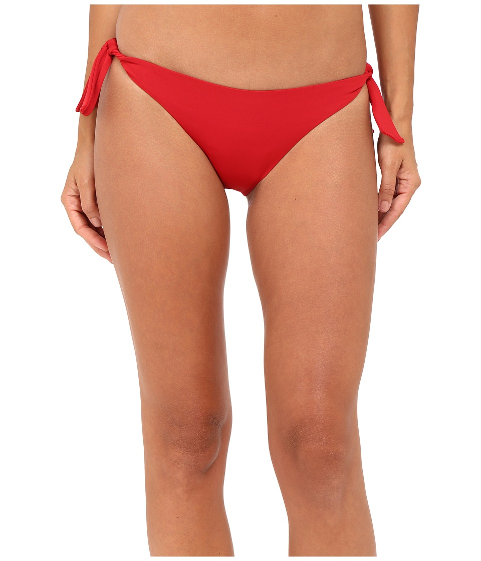La Perla Dunes Side-Tie Bikini Bottom (Red)