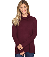 Lilla P - Cowl Neck Tunic - Cotton/Cashmere