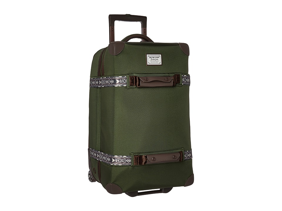 Burton Wheelie Cargo Travel Luggage (Rifle Green) Luggage