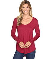 Lilla P - Pima Modal Slub Long Sleeve V-Neck