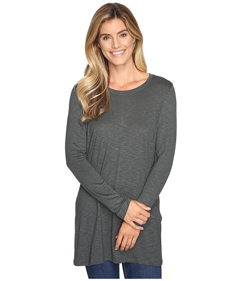 Lilla P Long Sleeve Tunic - Slate