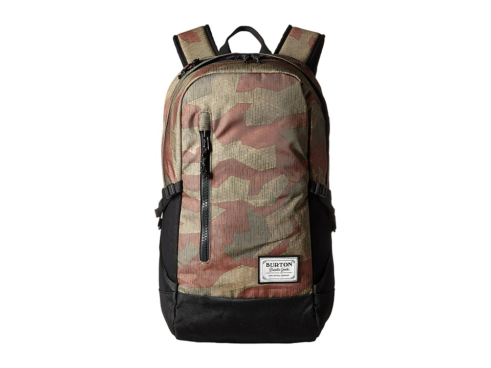 Burton Prospect Backpack (Splinter Camo Print) Backpack Bags