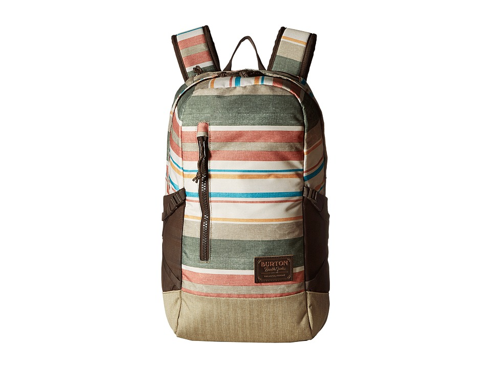 Burton Prospect Backpack (Rancher Stripe Print) Backpack Bags