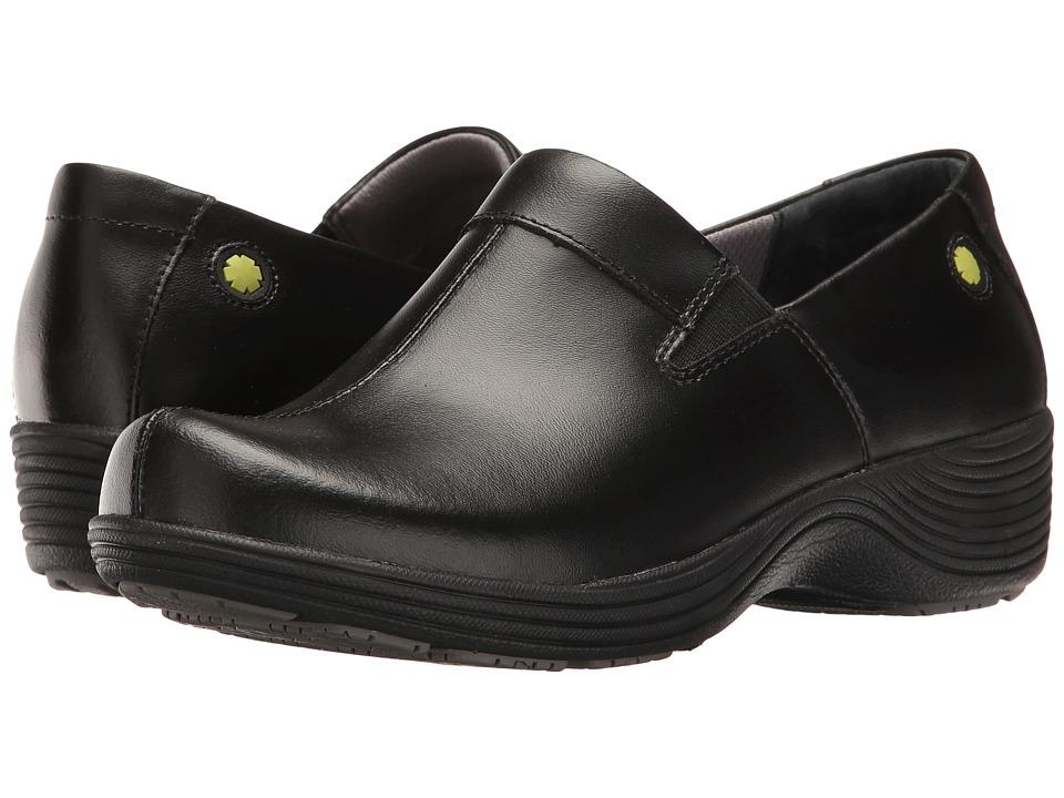Work Wonders by Dansko Coral (Black Leather) Women's Shoes