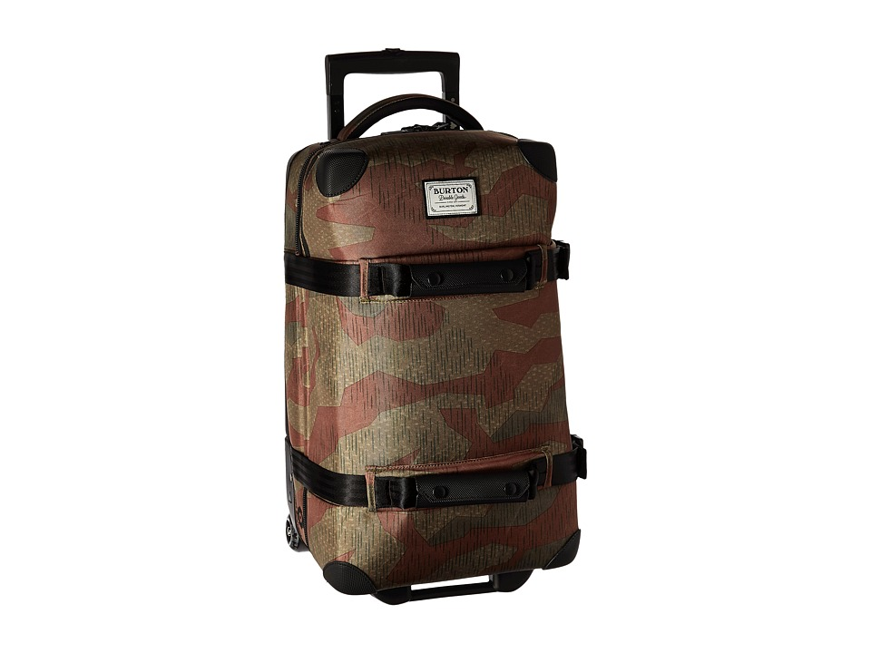 Burton Wheelie Flight Deck Travel Luggage (Splinter Camo Print) Luggage
