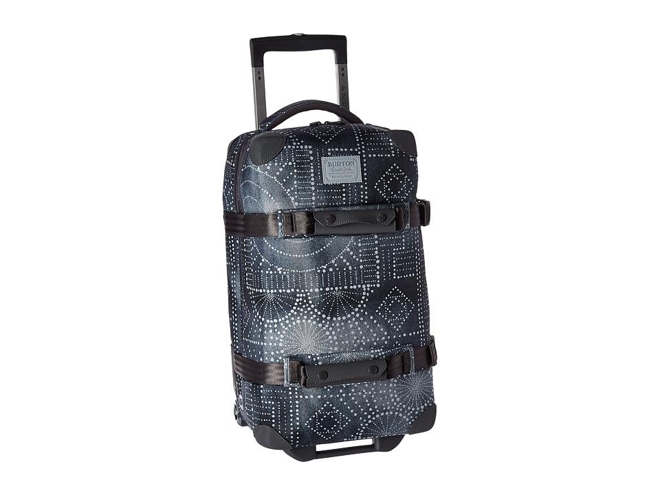 Burton Wheelie Flight Deck Travel Luggage (Bandotta Print) Luggage